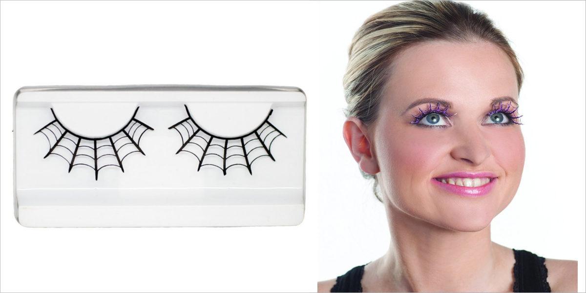 spider costume lashes
