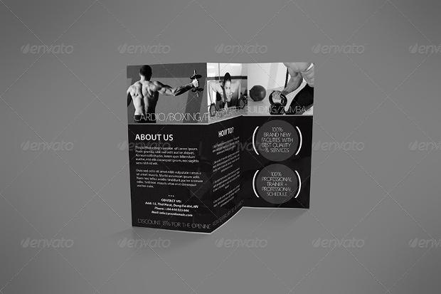 Fitness Gym Center Brochure
