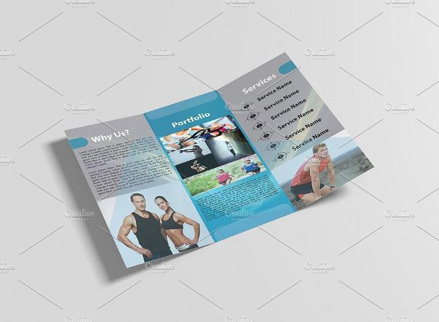 Printable Gym Brochure
