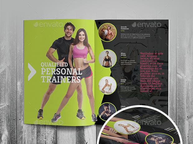 Gym Advertising Brochure