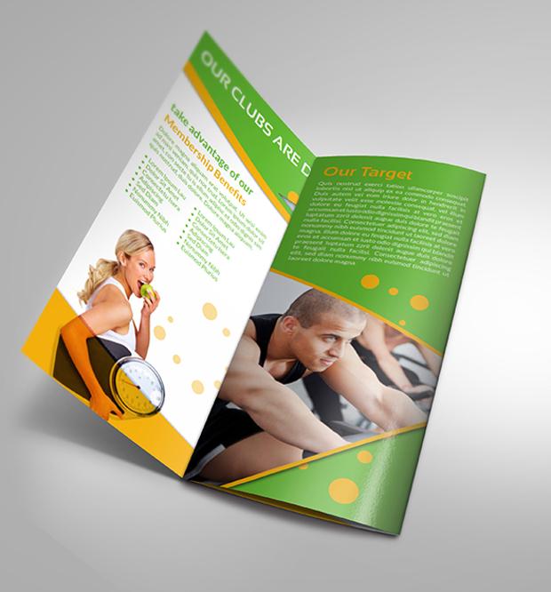 Gym Fitness Club Brochure