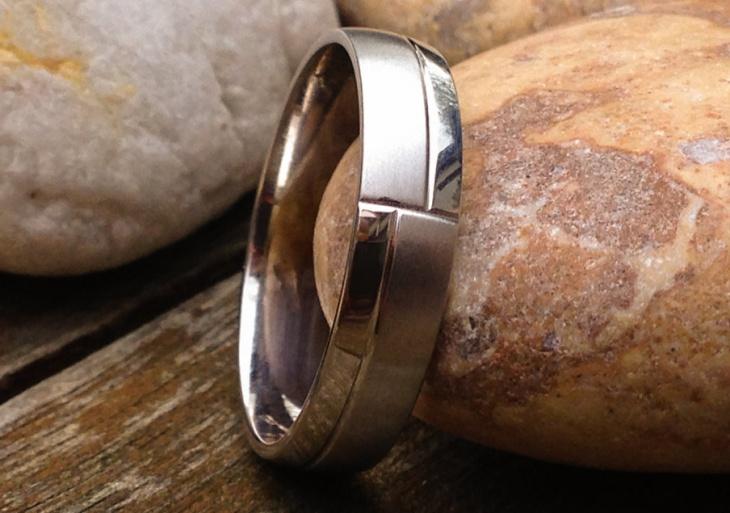 Mens Platinum Wedding Ring