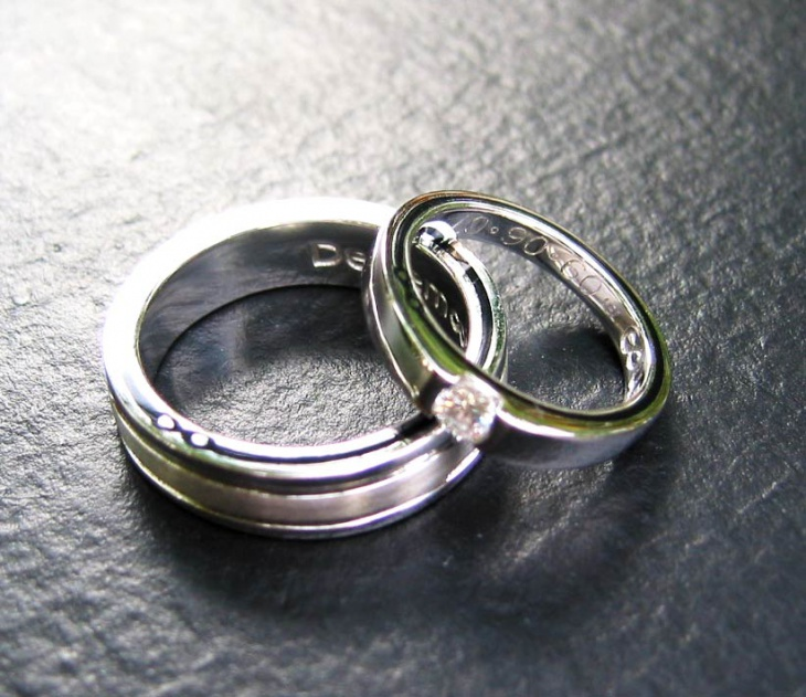 Mens Titanium Wedding Ring Design