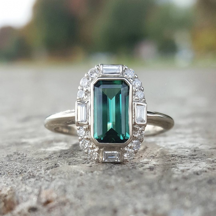 mens white gold ring design