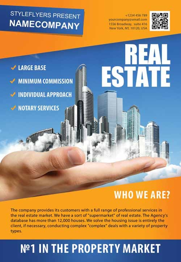 Free Real Estate Flyer Design