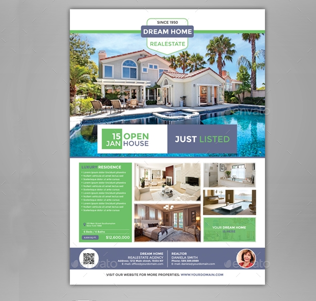 27+ Real Estate Flyer Templates