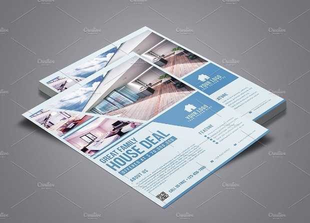 Modern Real Estate Flyer Design