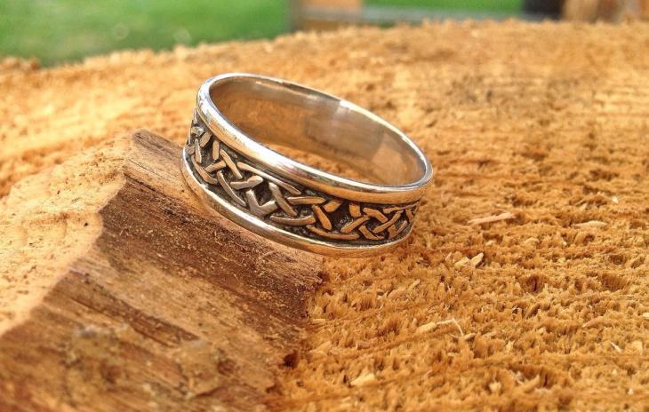Celtic Knot Ring Design for Men