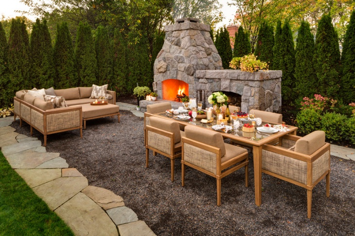 Outdoor Patio Sofa Design