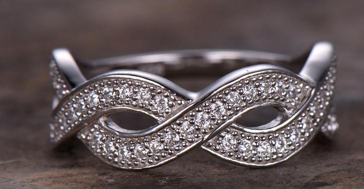 Curved Eternity Ring Design for Men
