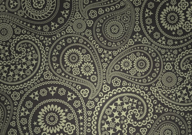 star paisley pattern