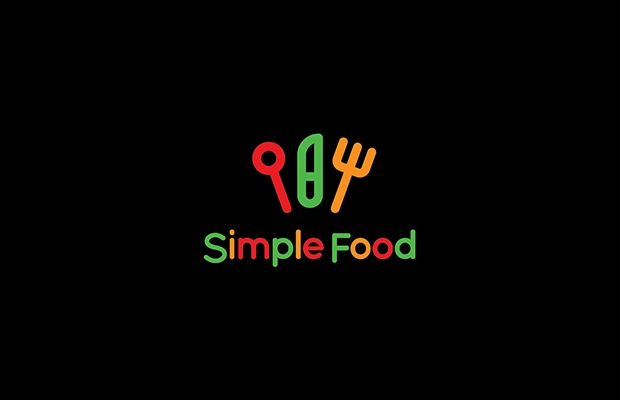 Simple Food Logo