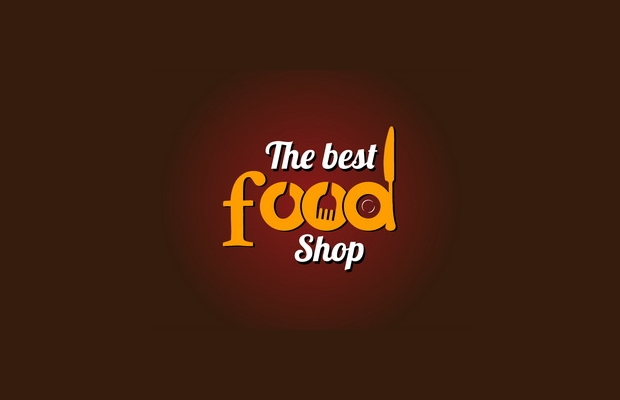 food shop logo design