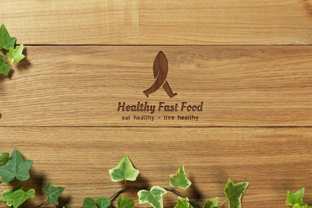Healthy Fast Food Logo
