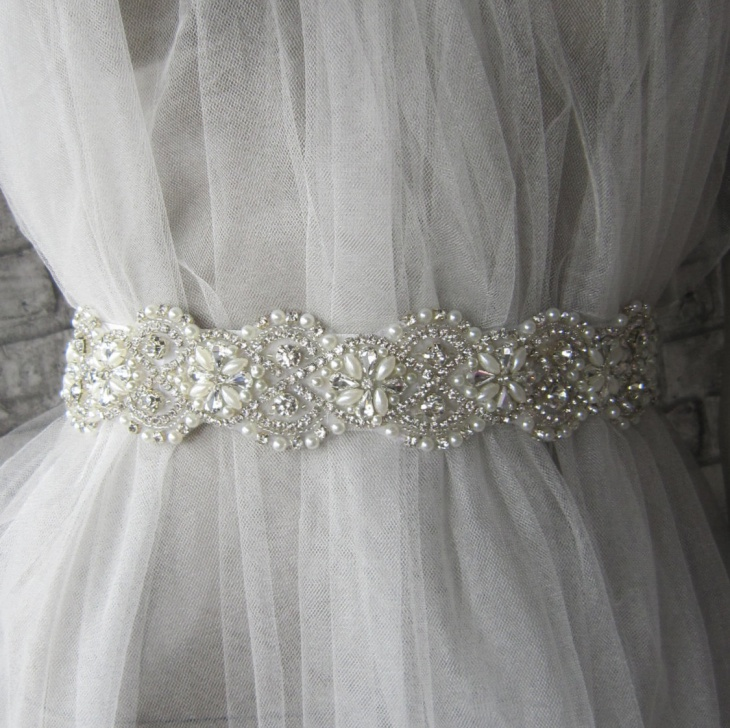 Crystal Rrhinestone Belt