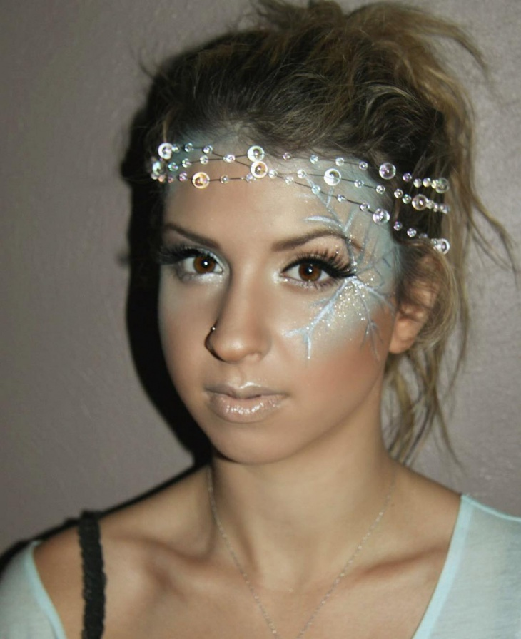 Ice Pirnces Frozen Makeup