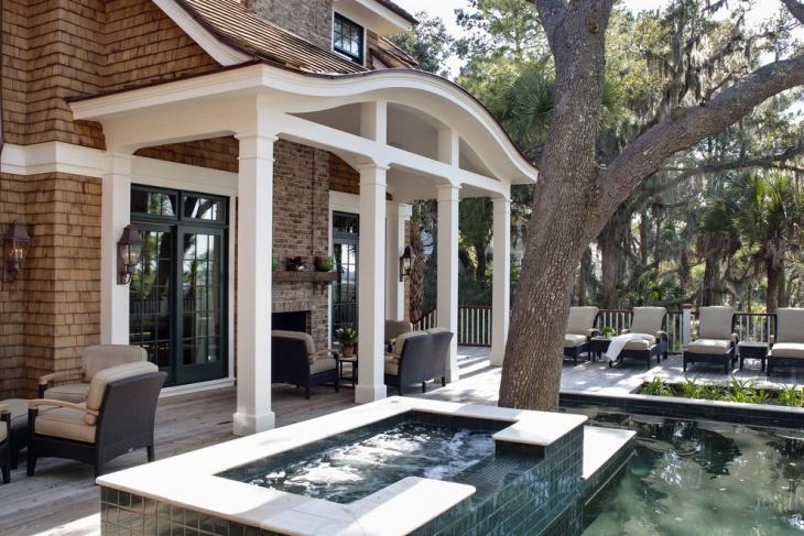 back porch roof design