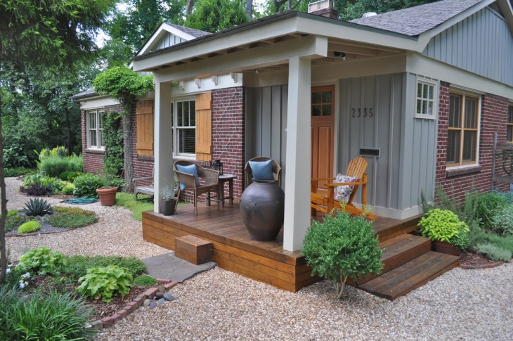 Porch Flat Roof Design