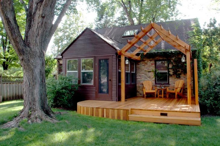 garage roof deck design