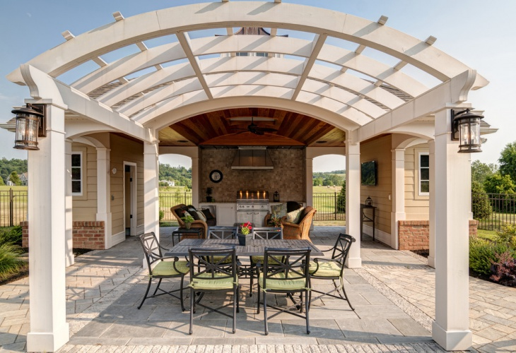 46+ Roof Designs, Ideas | Design Trends - Premium PSD ... on Curved Patio Ideas id=19350