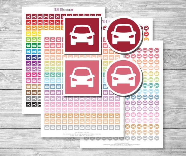 printable car sticker designs