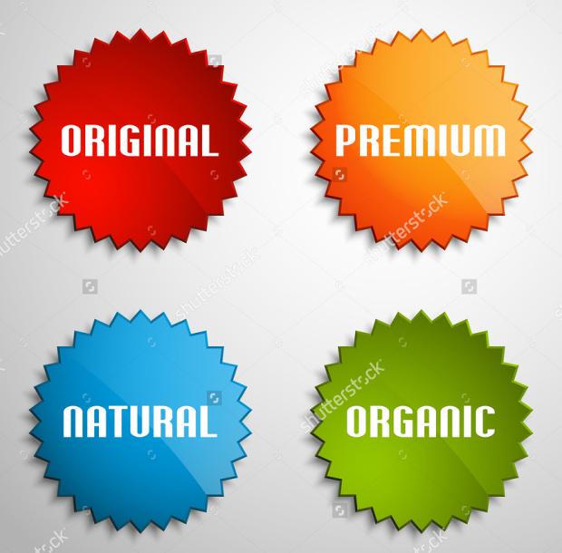 round paper stickers