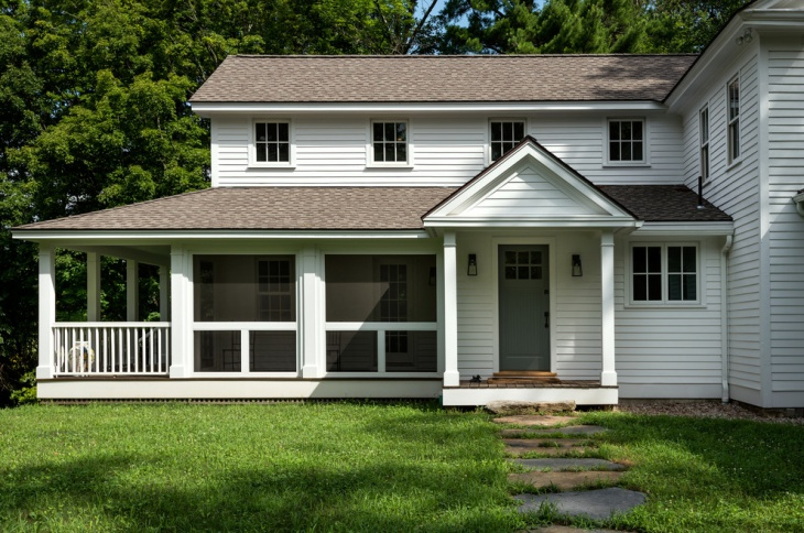 small porch roof design
