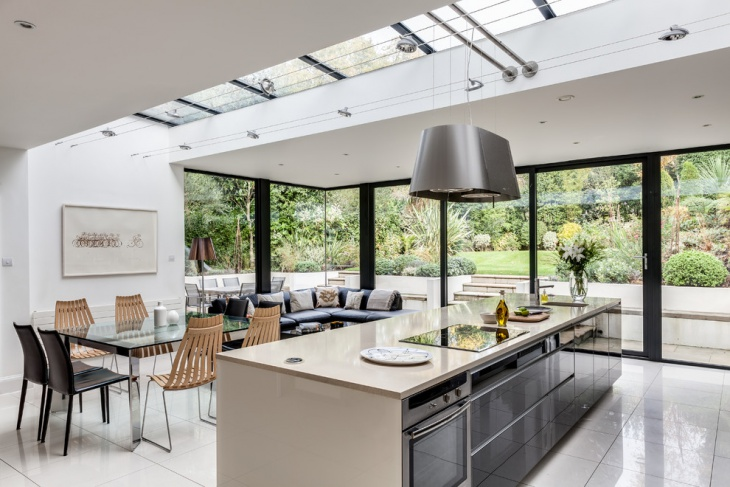 Kitchen Extension Roof Design