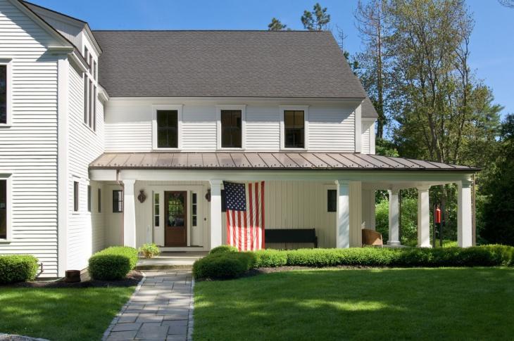 Contemporary Porch Roof Design