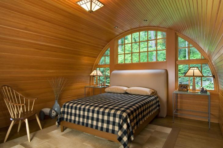 Round Roof Bedroom Design