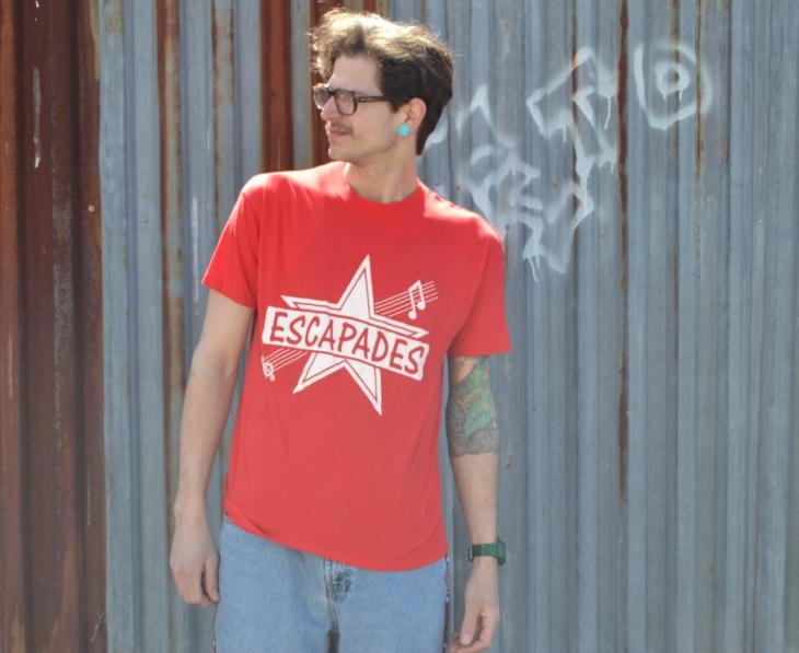 Vintage Mens Music T Shirt