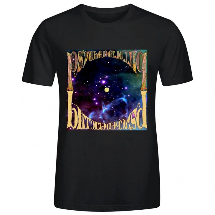 Psychedelic Pill T Shirt Design for Men