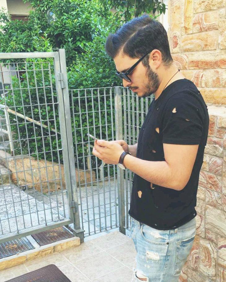 Black Ripped T Shirt for Men