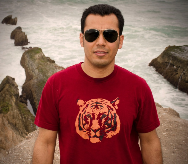 Tiger Print T Shirt for Men