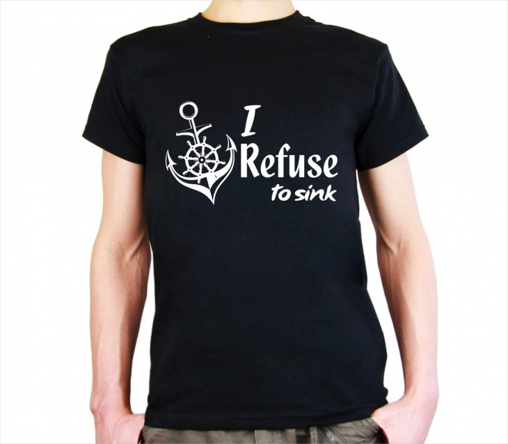 Monogrammed Anchor T Shirt for Men