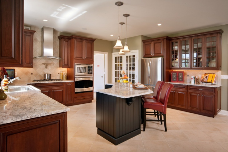 Ceramic Tile Kitchen Floor Design