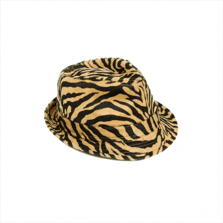 Mens Animal Print Floppy Hat