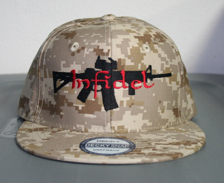 Fitted Camo Hat for Men