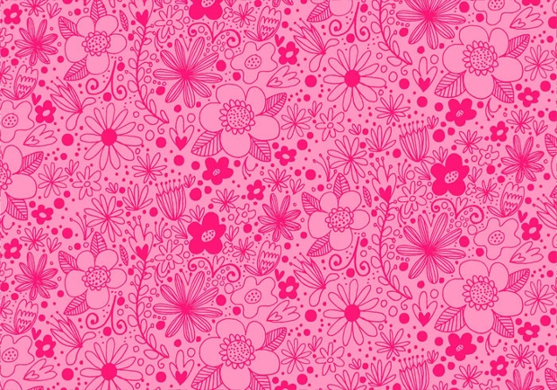 2019 year lifestyle- Flower Pink background pattern pictures