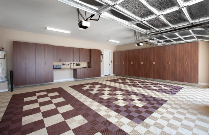 Cool Garage Floor Design