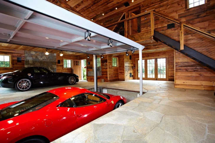 Elevated Garage Design