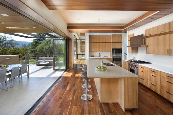 Open Kitchen Floor Design