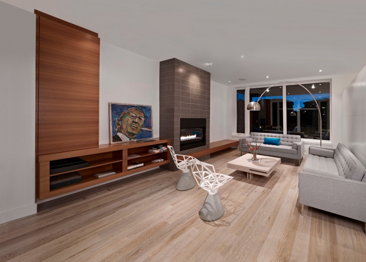 Modern Hardwood Floor Design