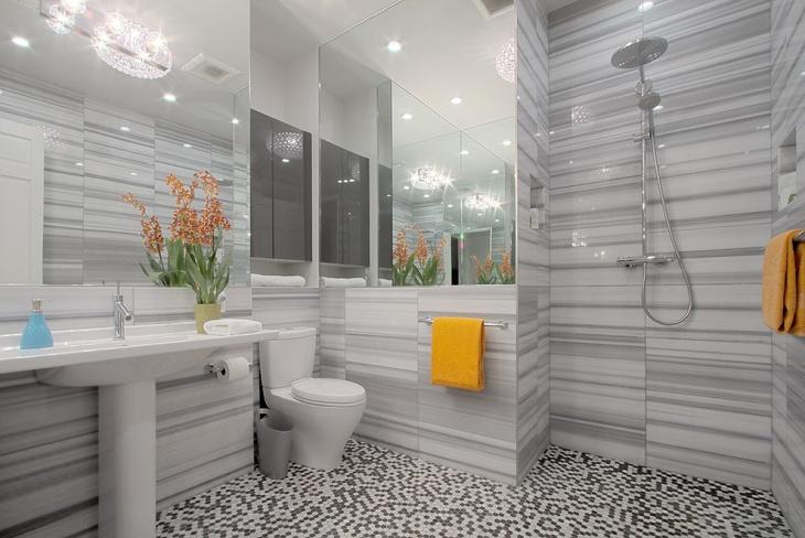 Modern Mosaic Floor Design
