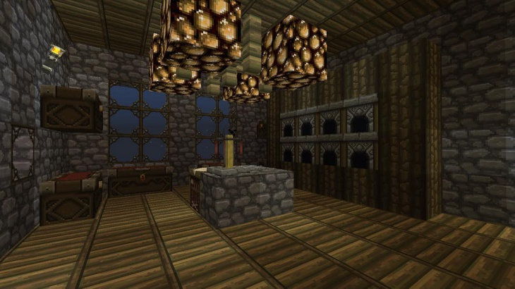 Minecraft Wood Floor Design