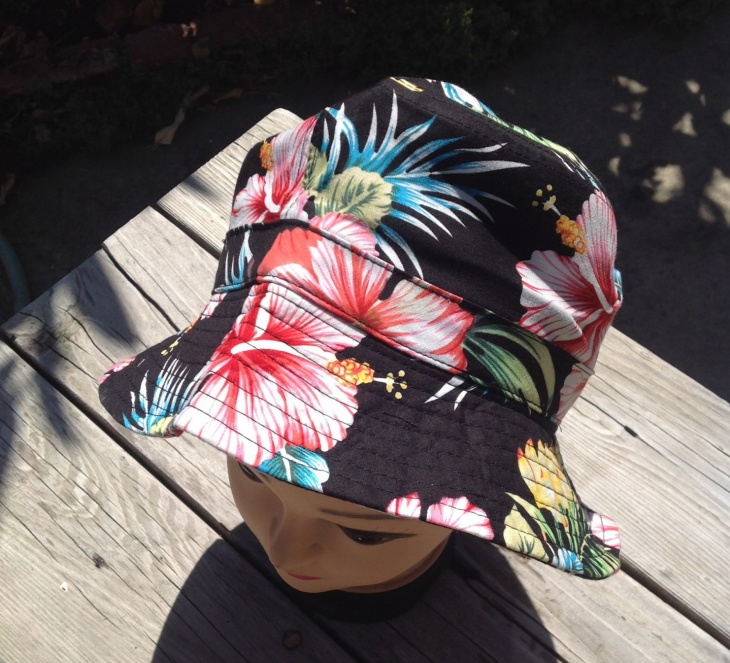 Floral Bucket Hat for Men