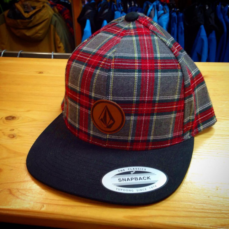 Mens Plaid Baseball Hat