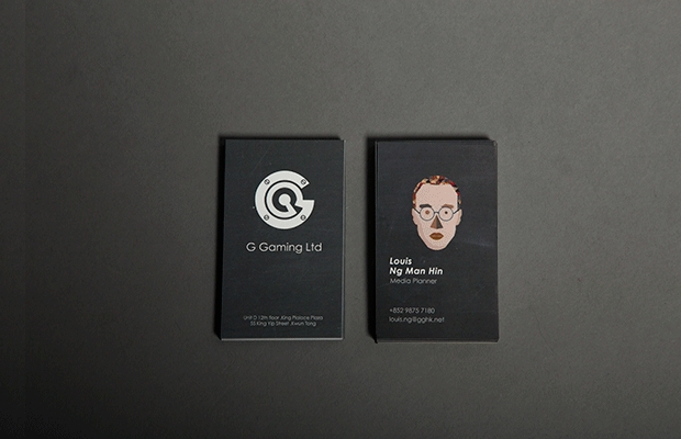 Gaming Business Card Design