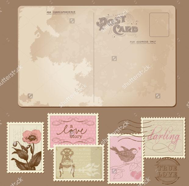 vintage-postcard-design
