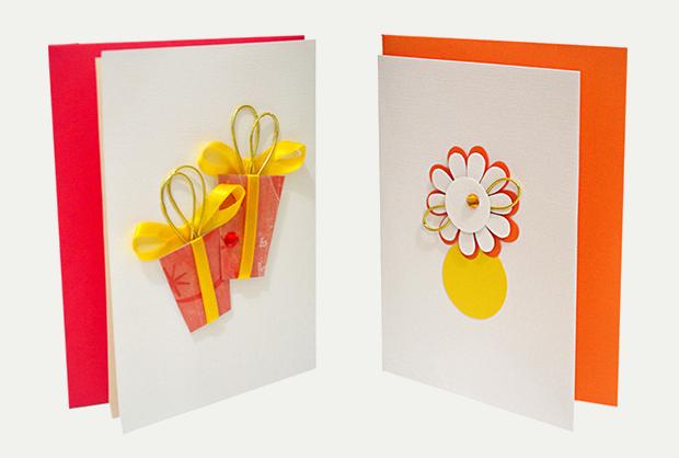 Handmade Thank You Card Design